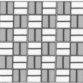 P: 1 x 2 Basketweave