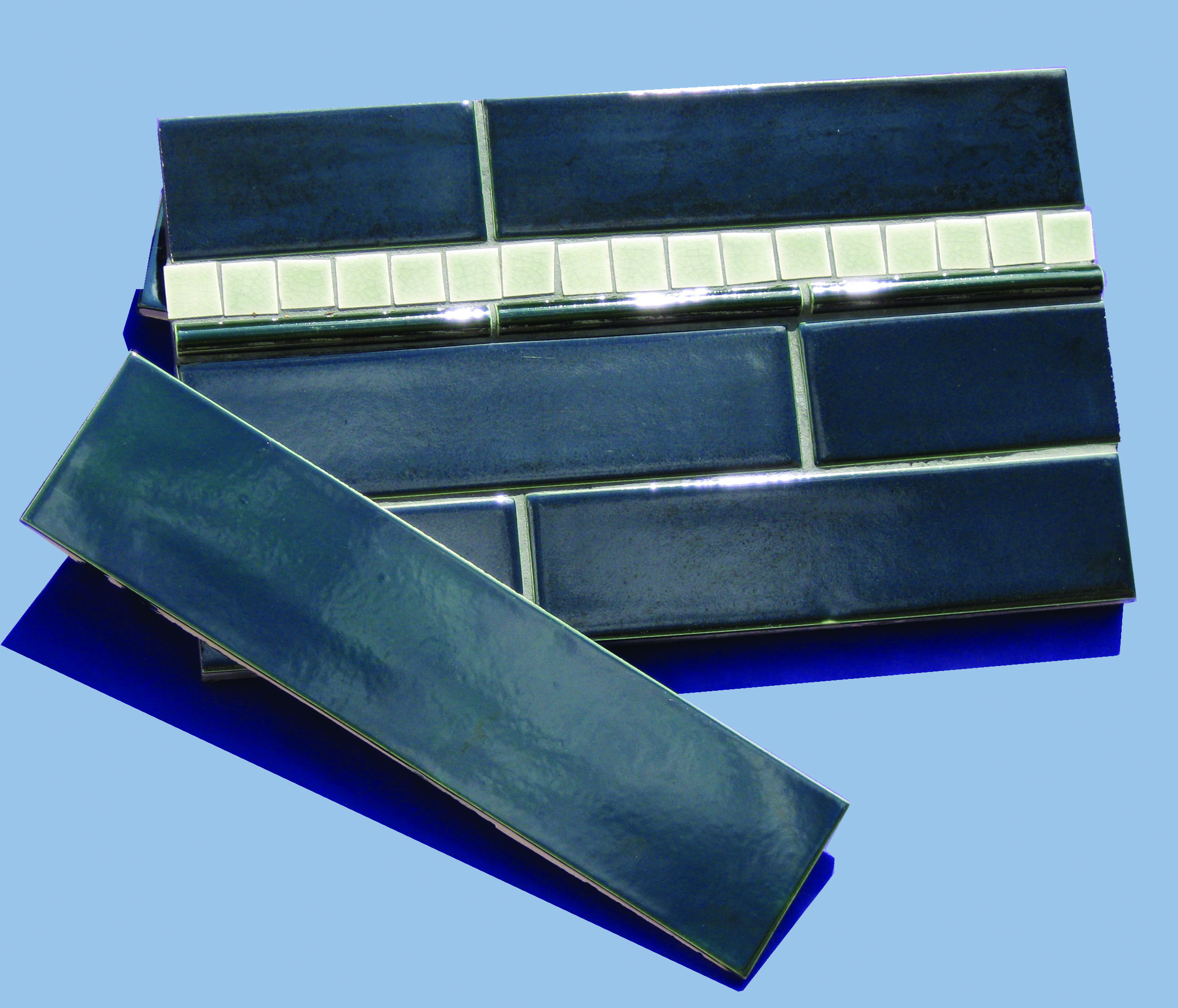 Trikeenan Willful Blue tile